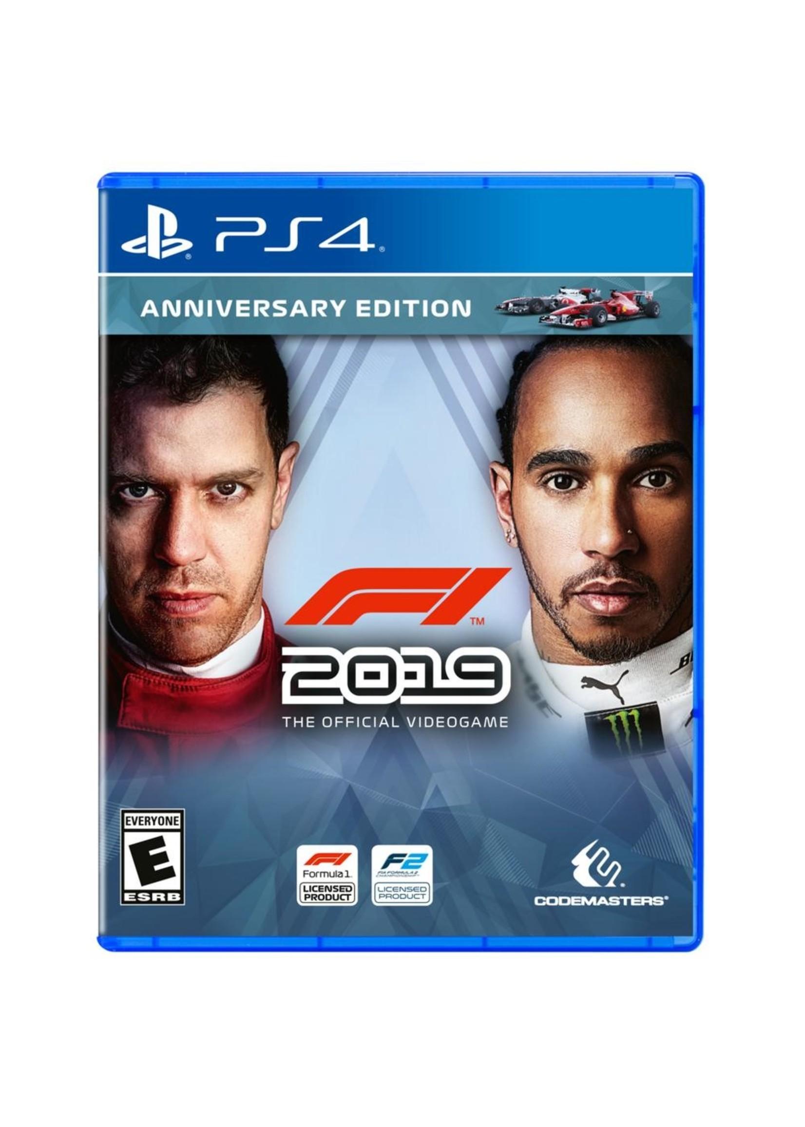 F1 2019 Anniversary Edition - PS4 NEW