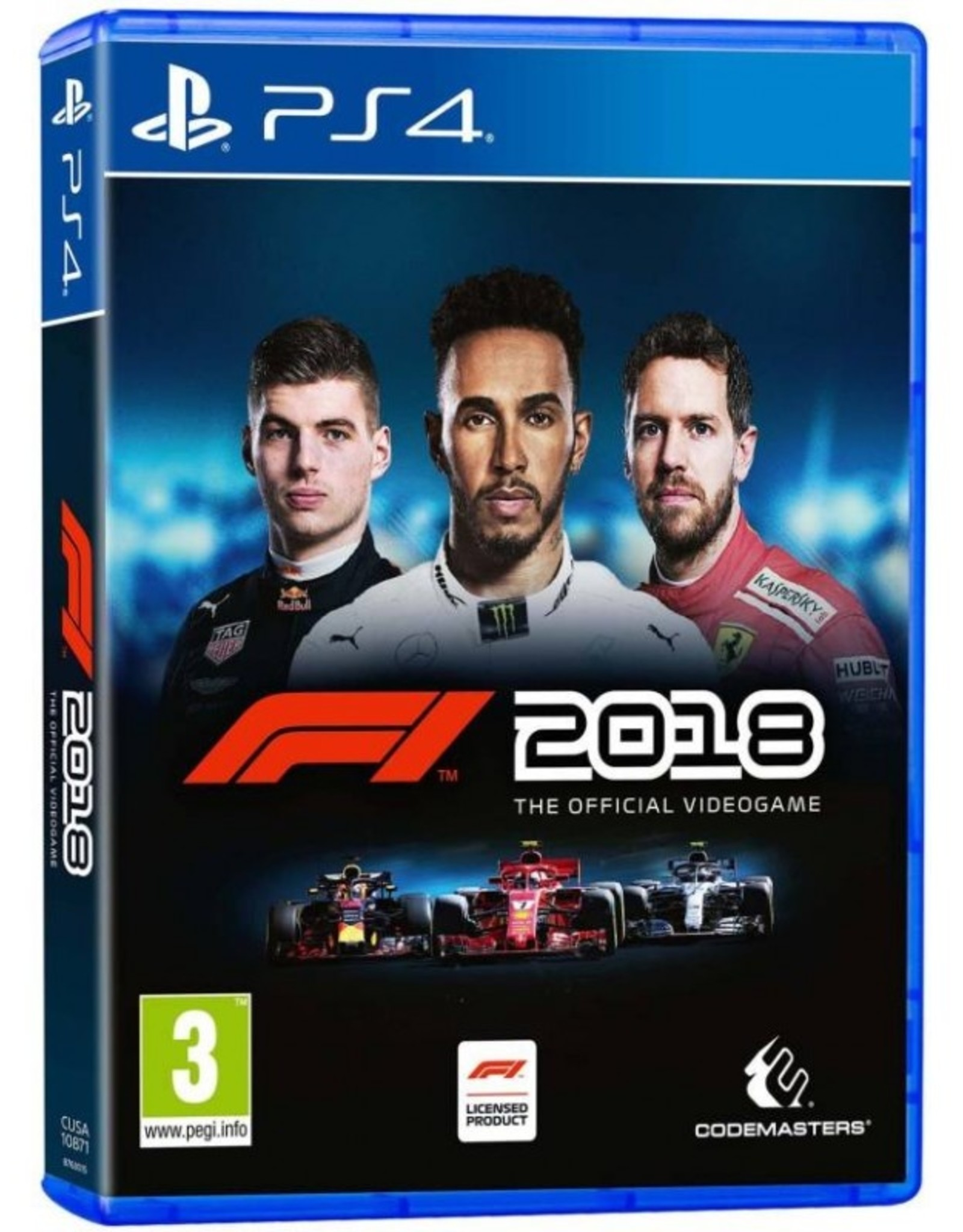 F1 2018 - PS4 Preplayed