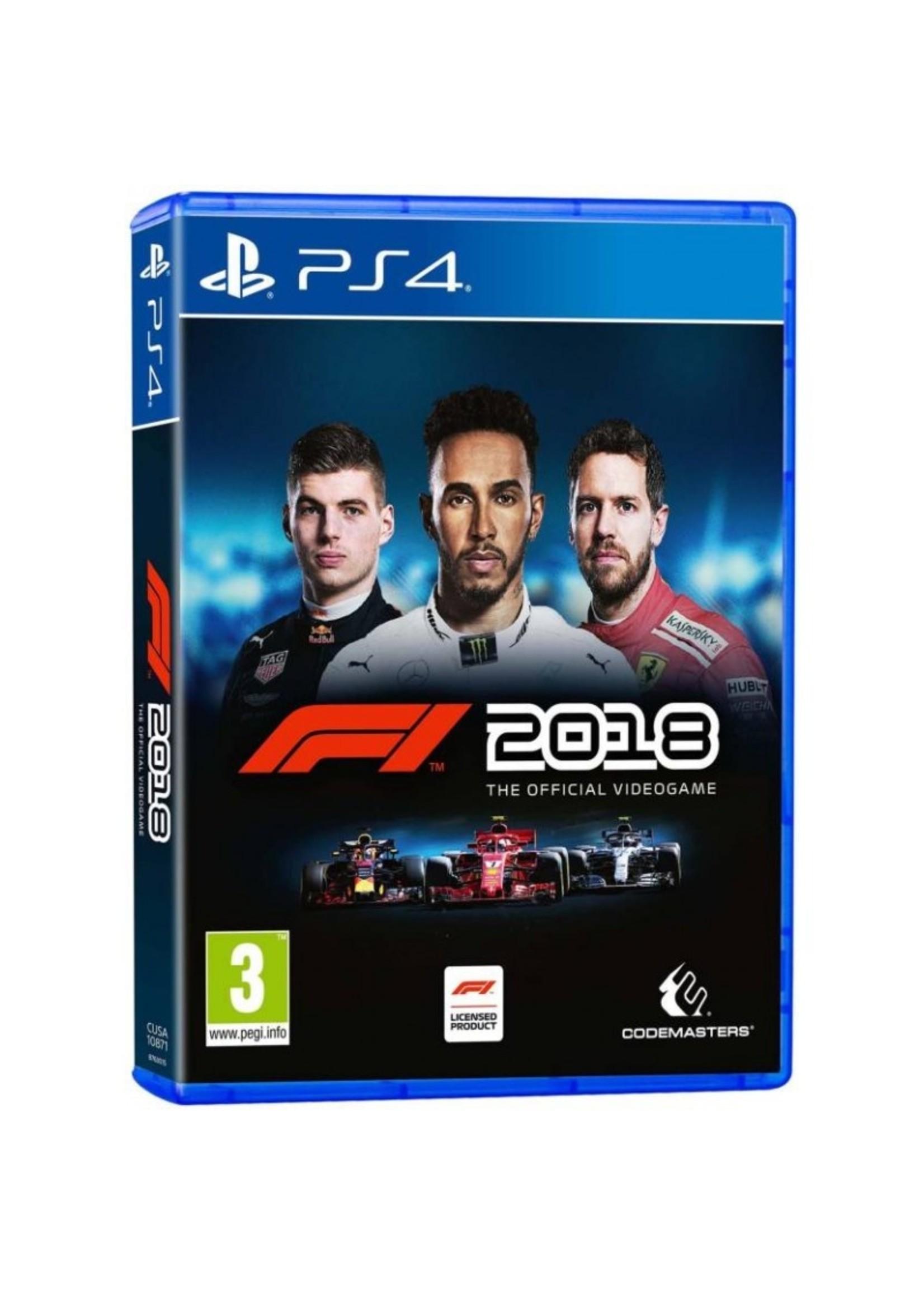 F1 2018 - PS4 Preplayed
