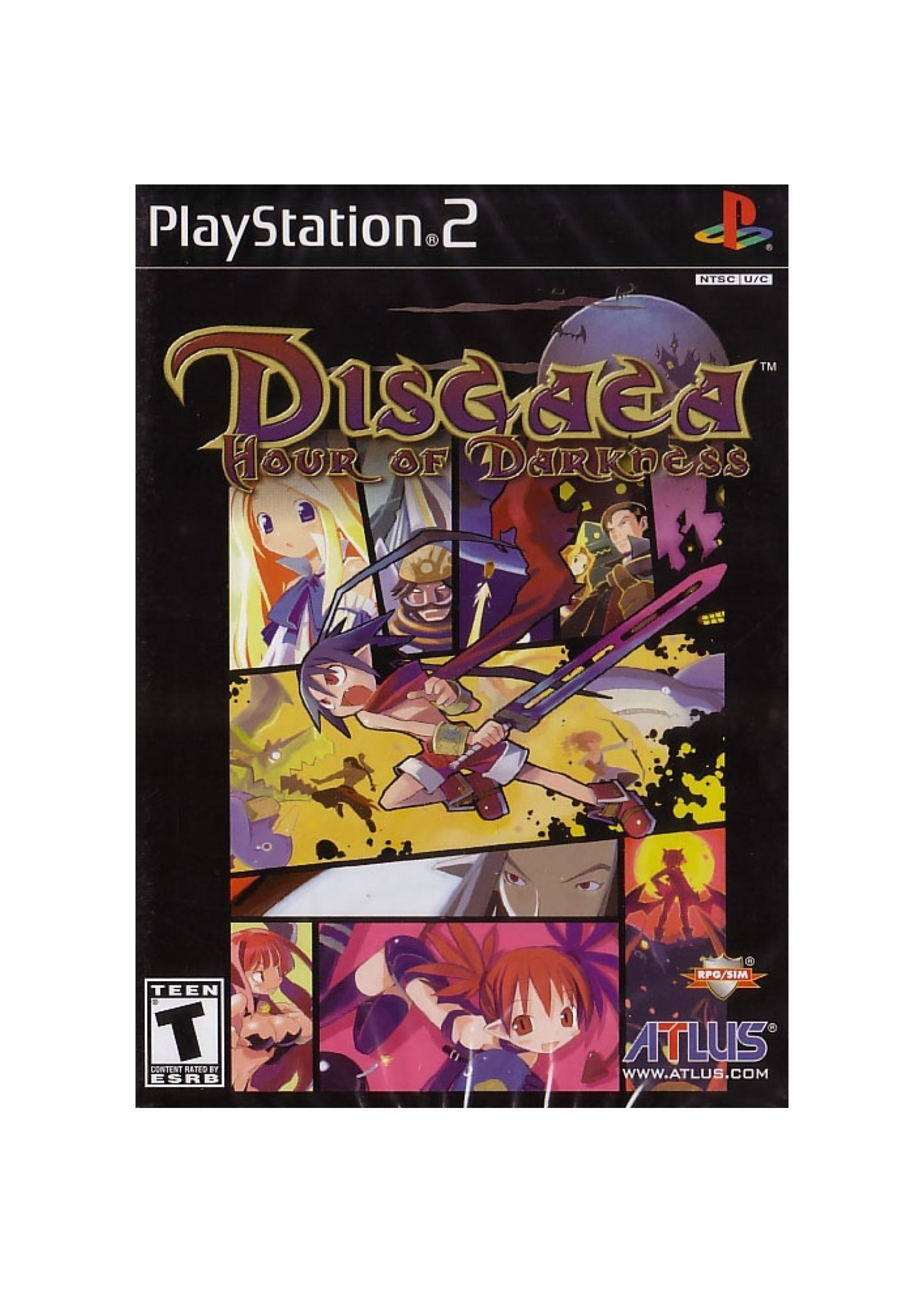 Disgaea Hour of Darkness - PS2 PrePlayed