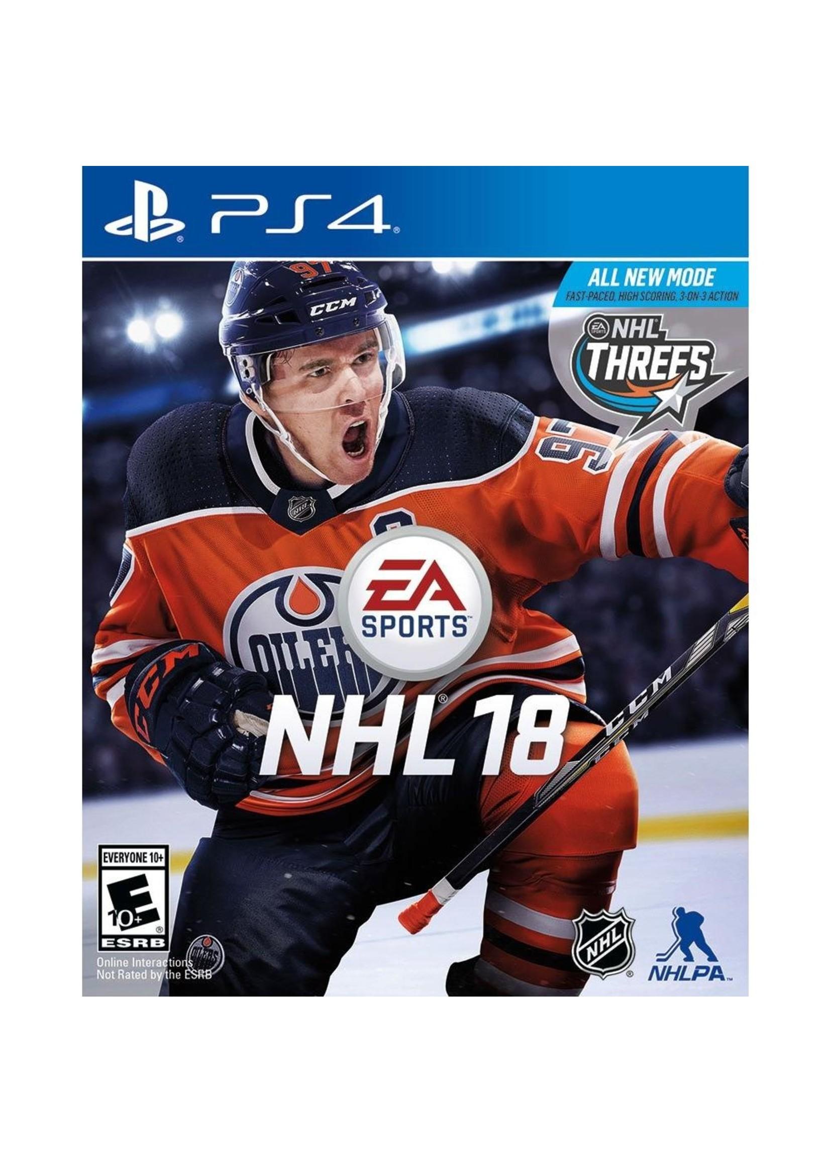 NHL 18 - PS4 NEW
