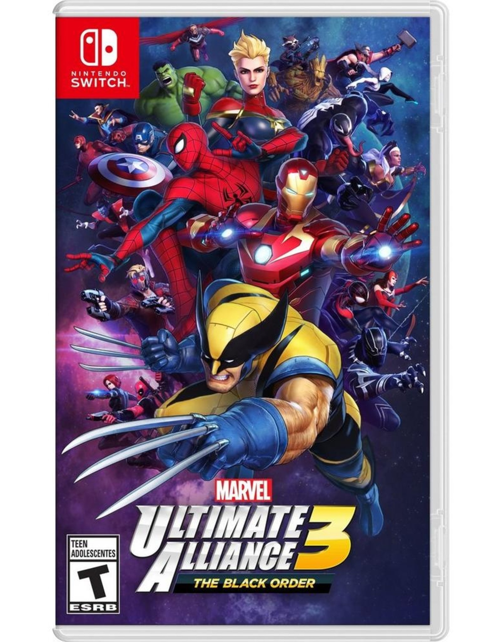 Marvel Ultimate Alliance 3 - SWITCH PrePlayed