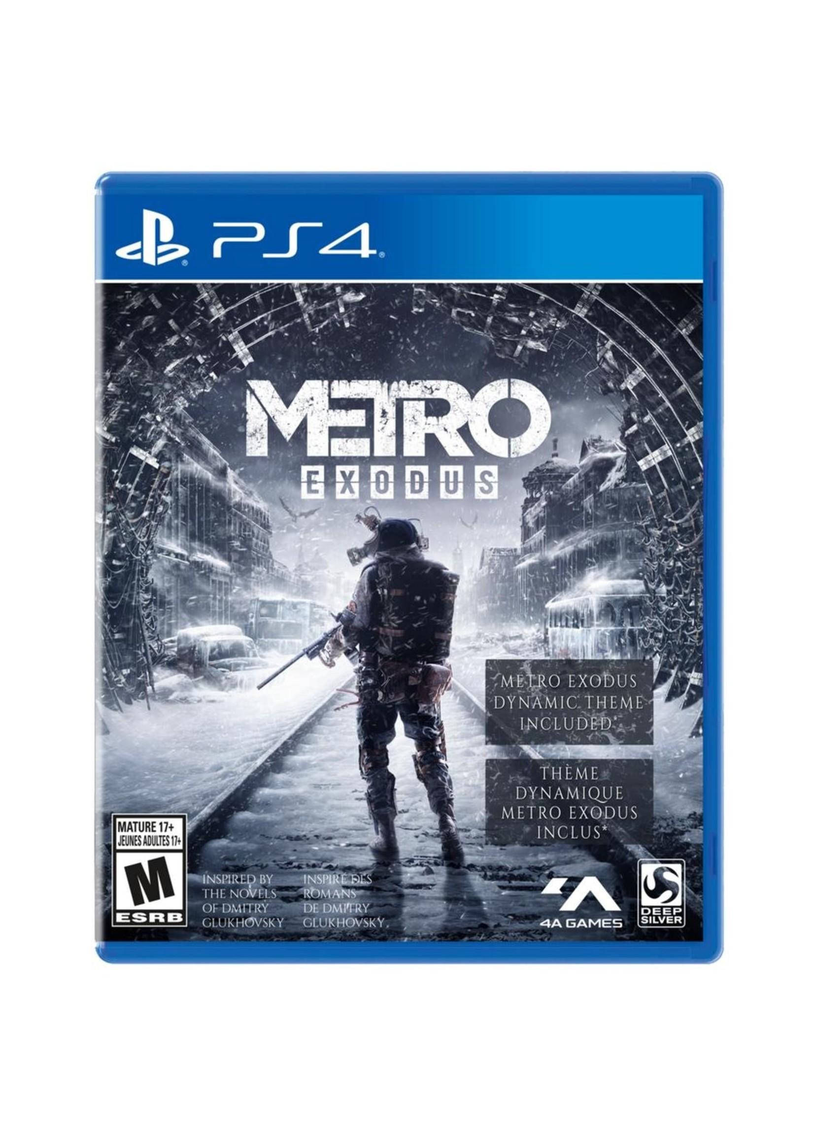Metro: Exodus - PS4 PrePlayed
