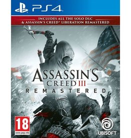Assassin's Creed 3 Remastered - PS4 PrePlayed