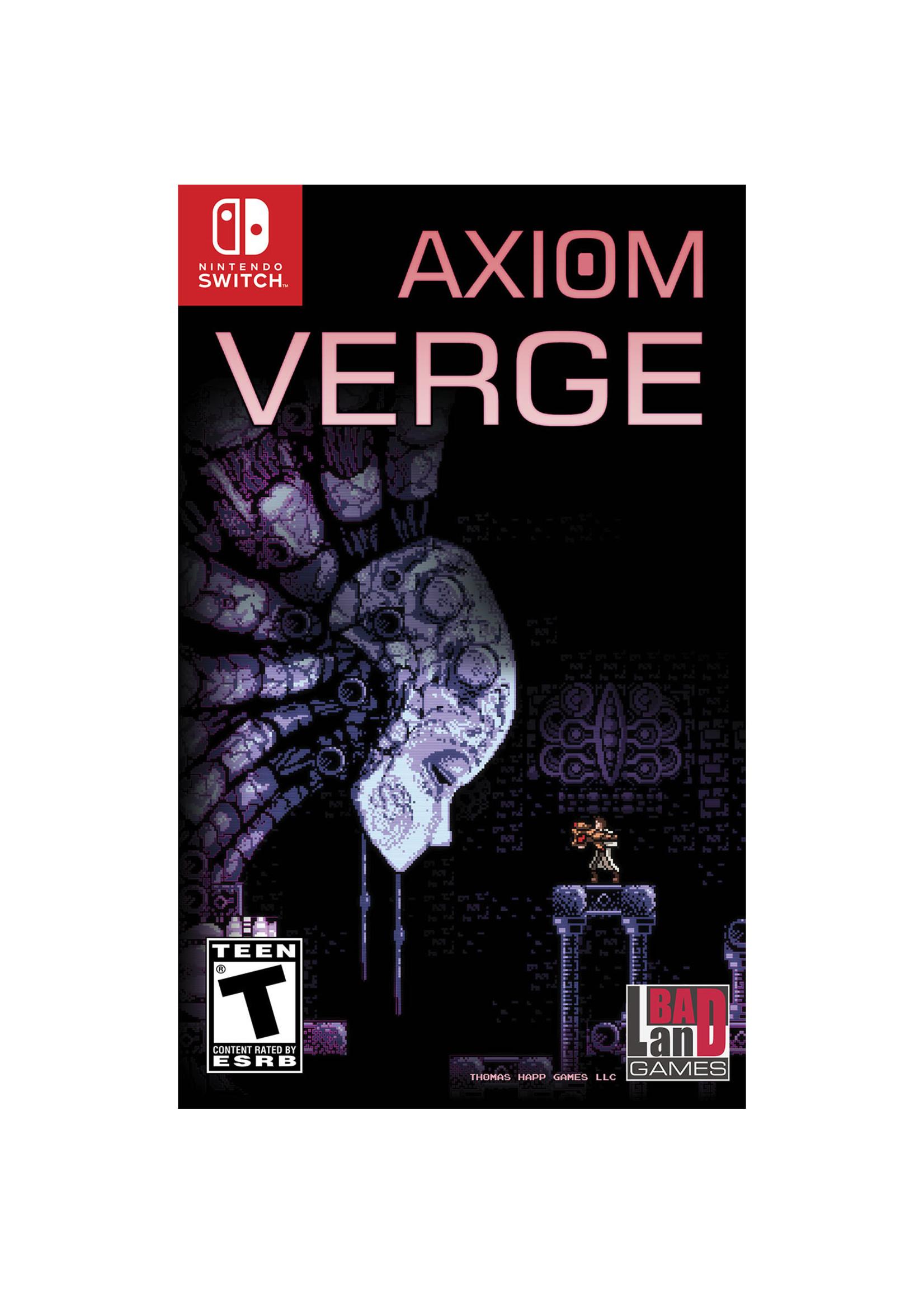 Axiom Verge - SWITCH PrePlayed