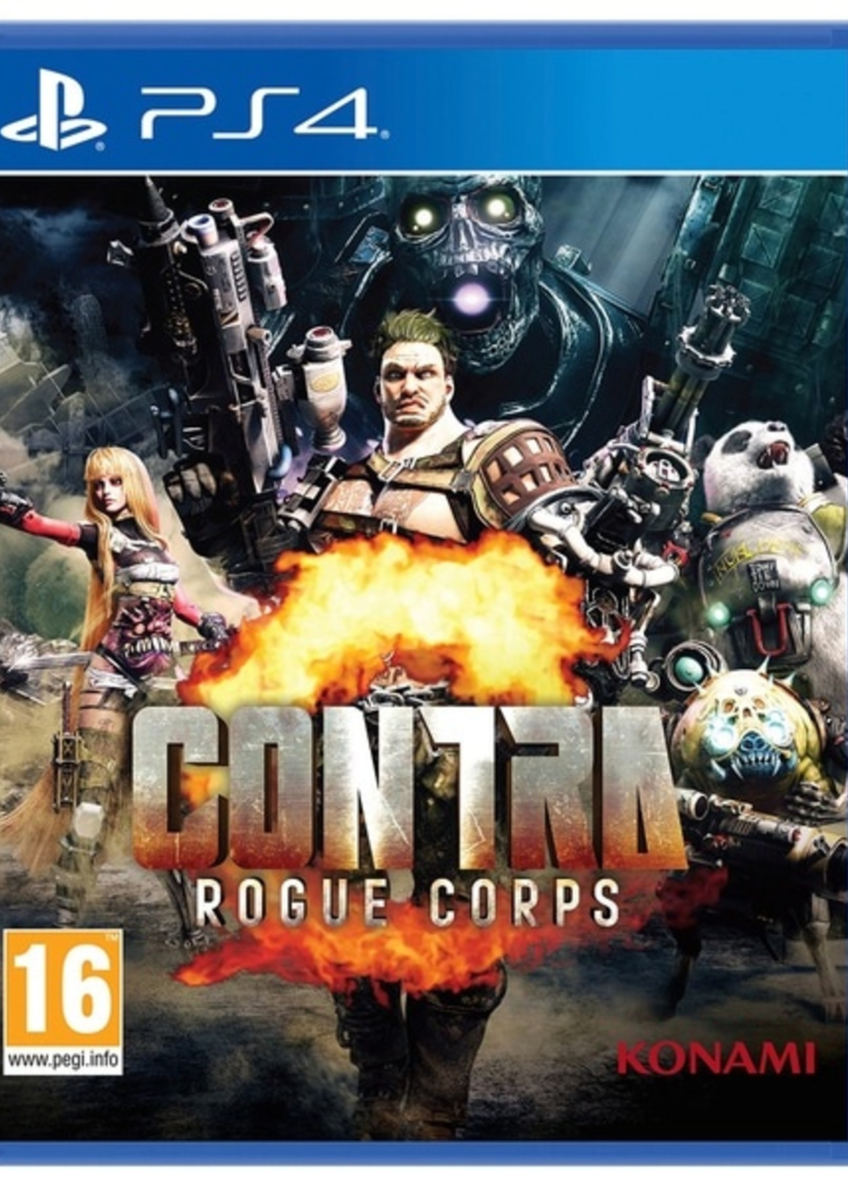 Contra: Rogue Corps - PS4 NEW