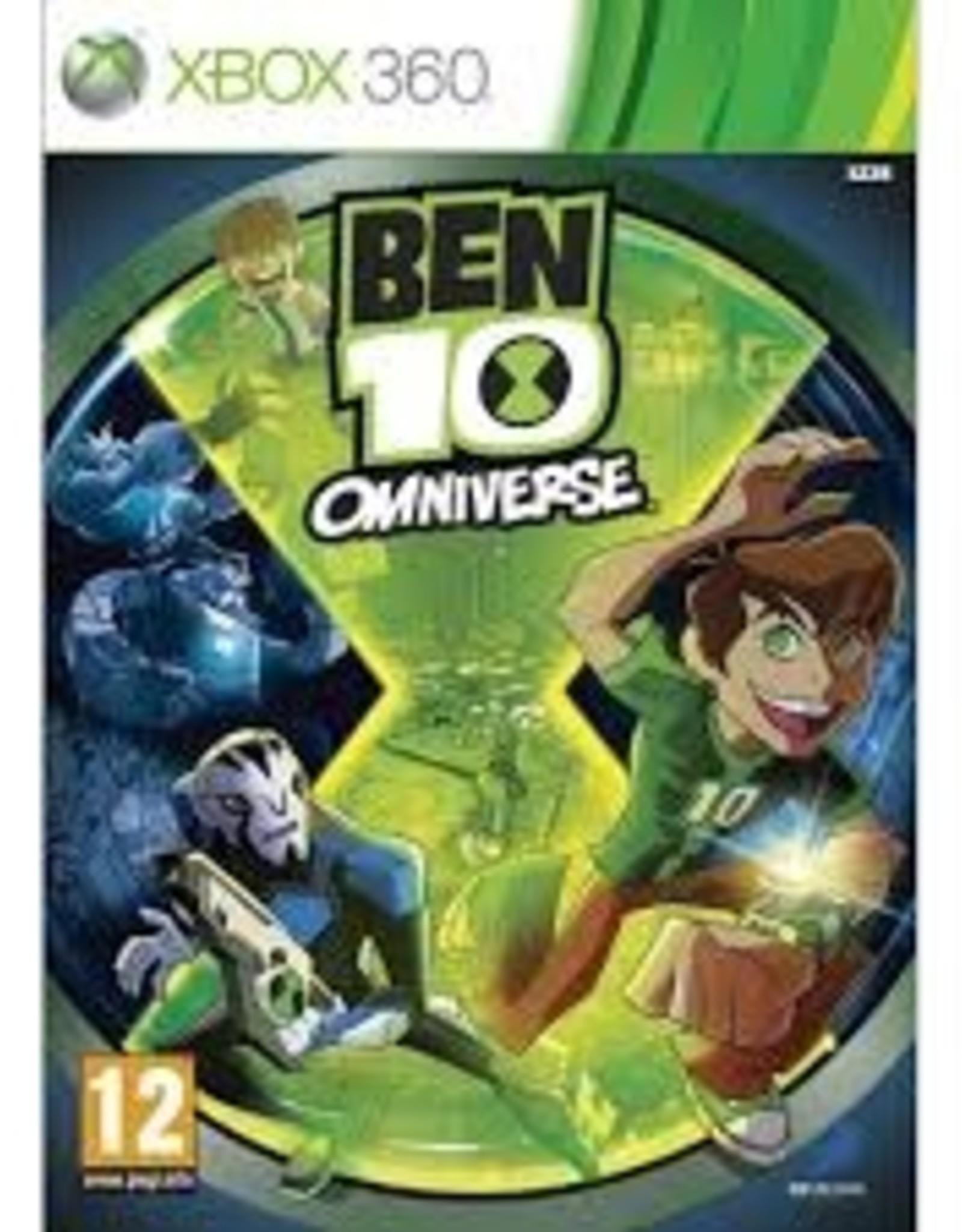 BEN 10 OMNIVERSE - XB360 PrePlayed