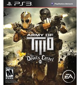 Army Of Two The Devil's Cartel - PS3 PrePlayed