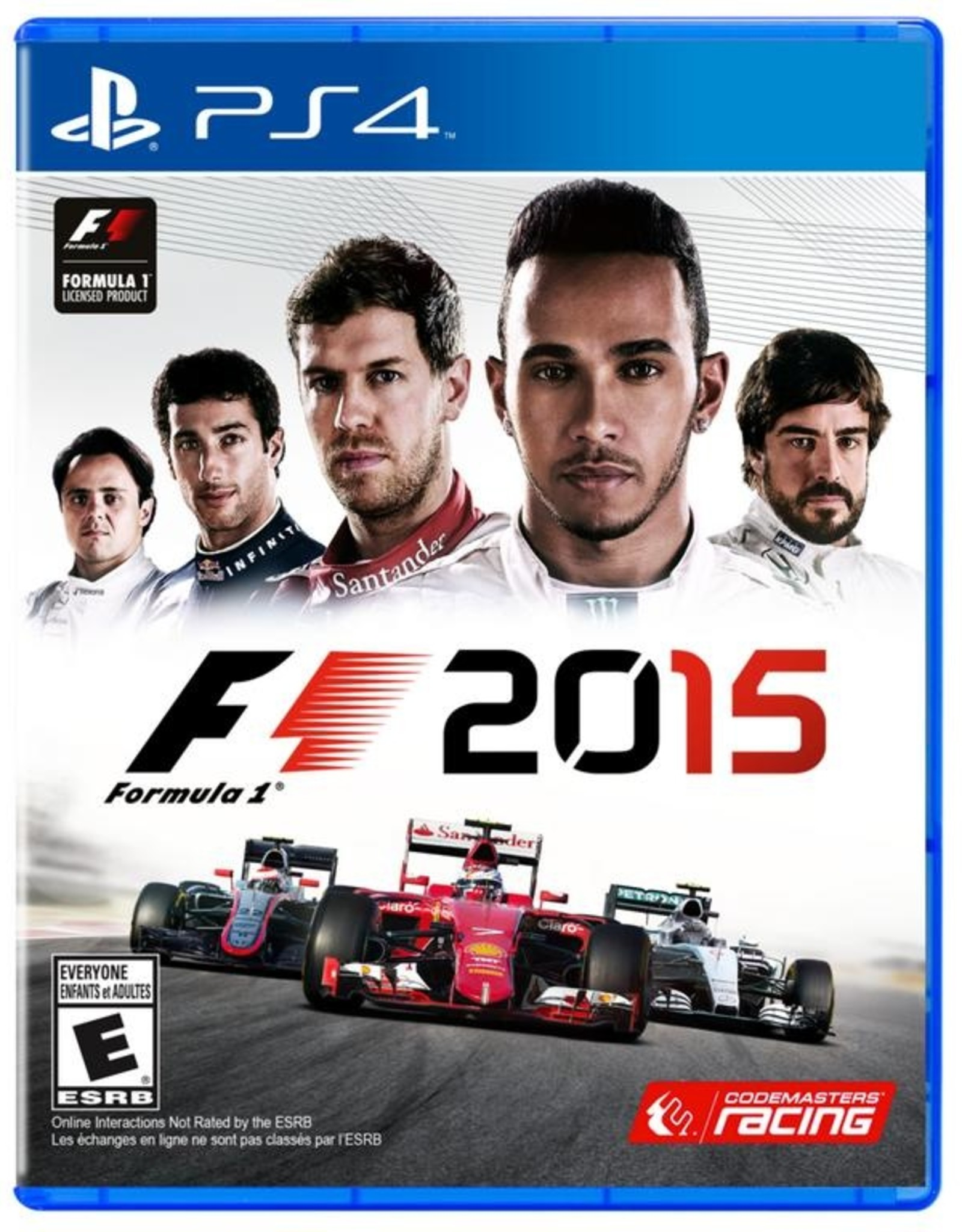 F1 2015 - PS4 PrePlayed