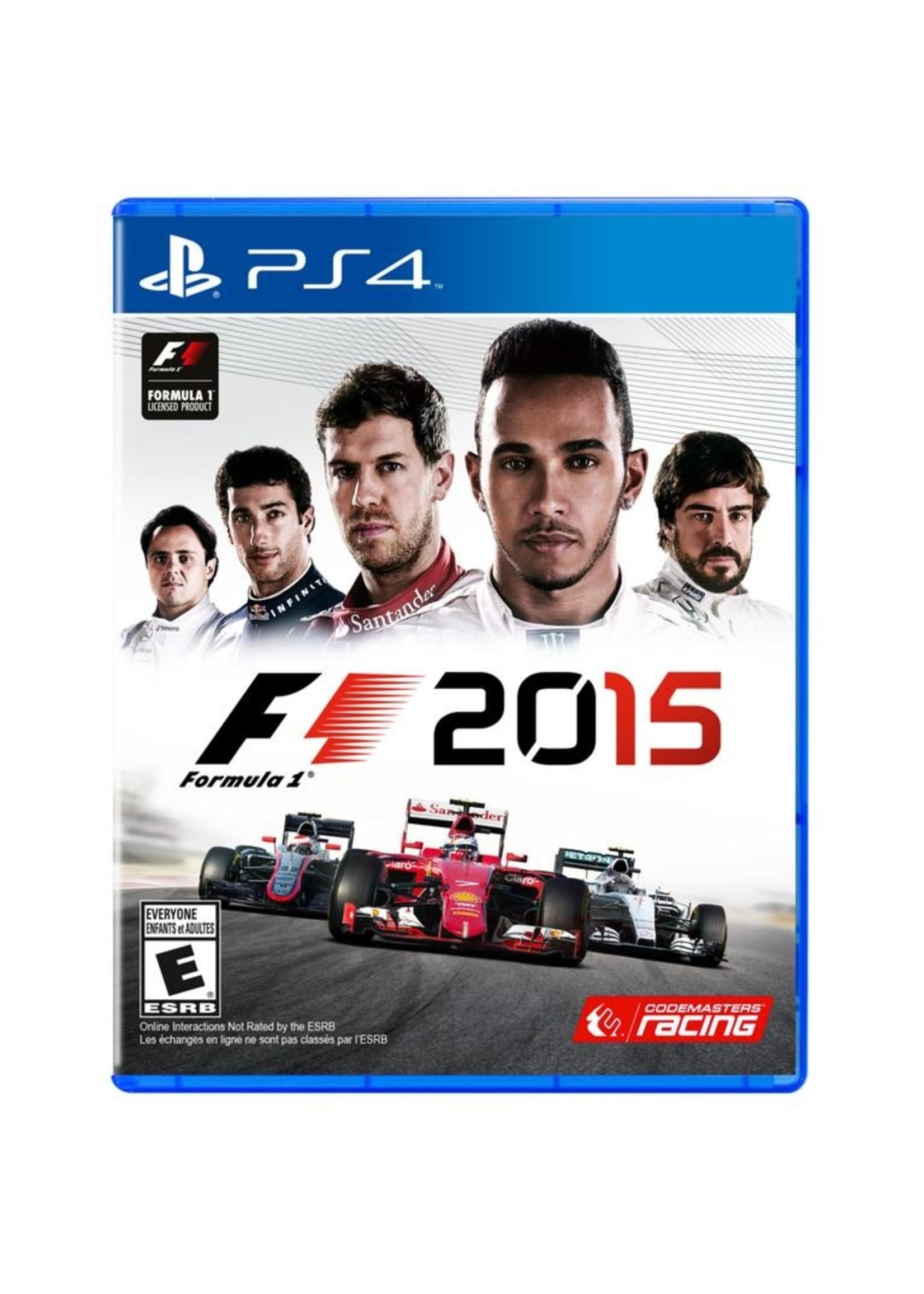 F1 2015 - PS4 PrePlayed
