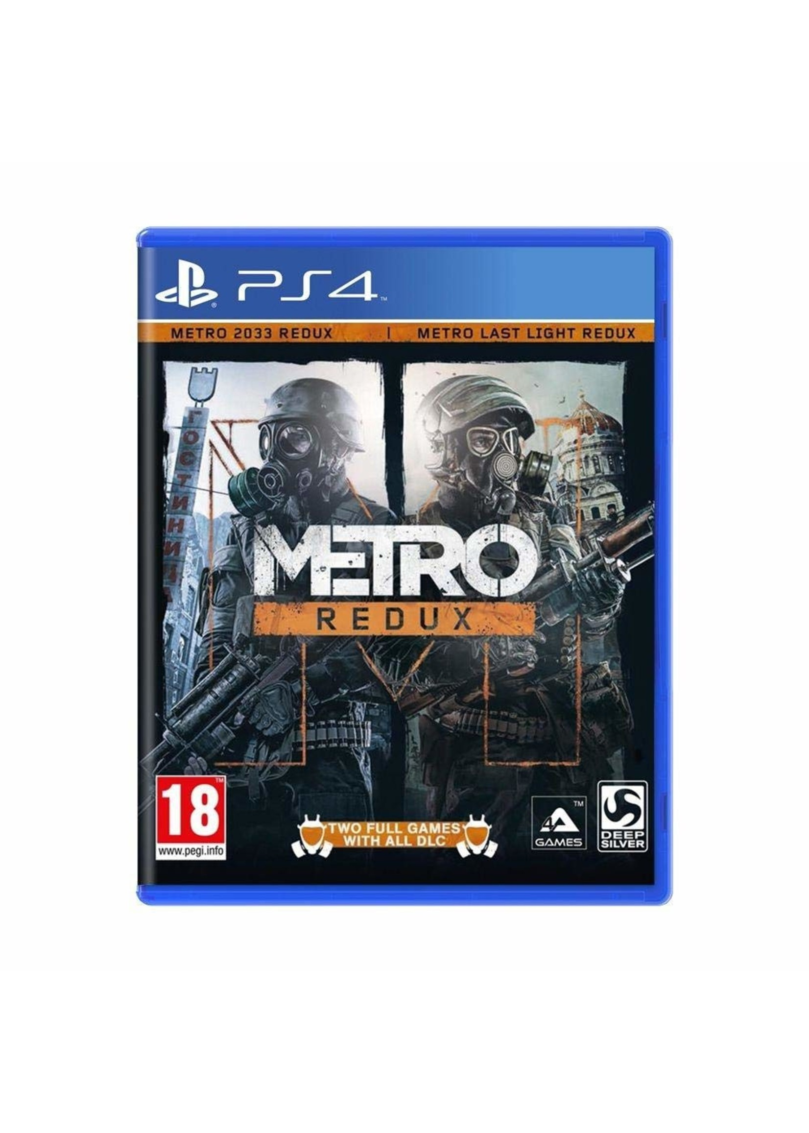Metro Redux -  PS4 PrePlayed