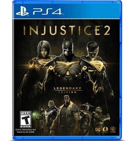Injustice 2 Legendary Edition - PS4 NEW