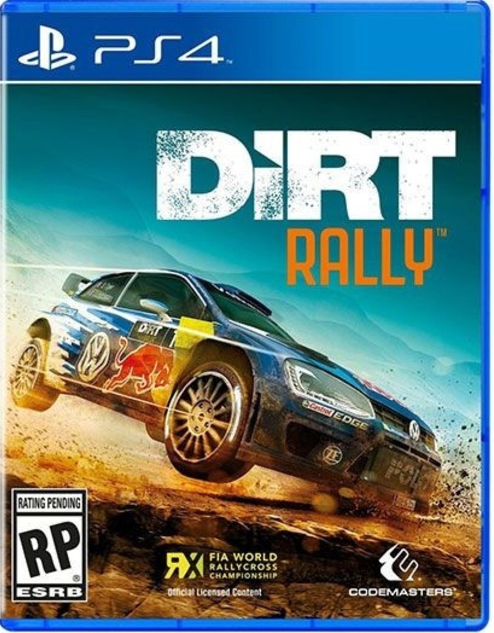 Dirt Rally - PS4 NEW