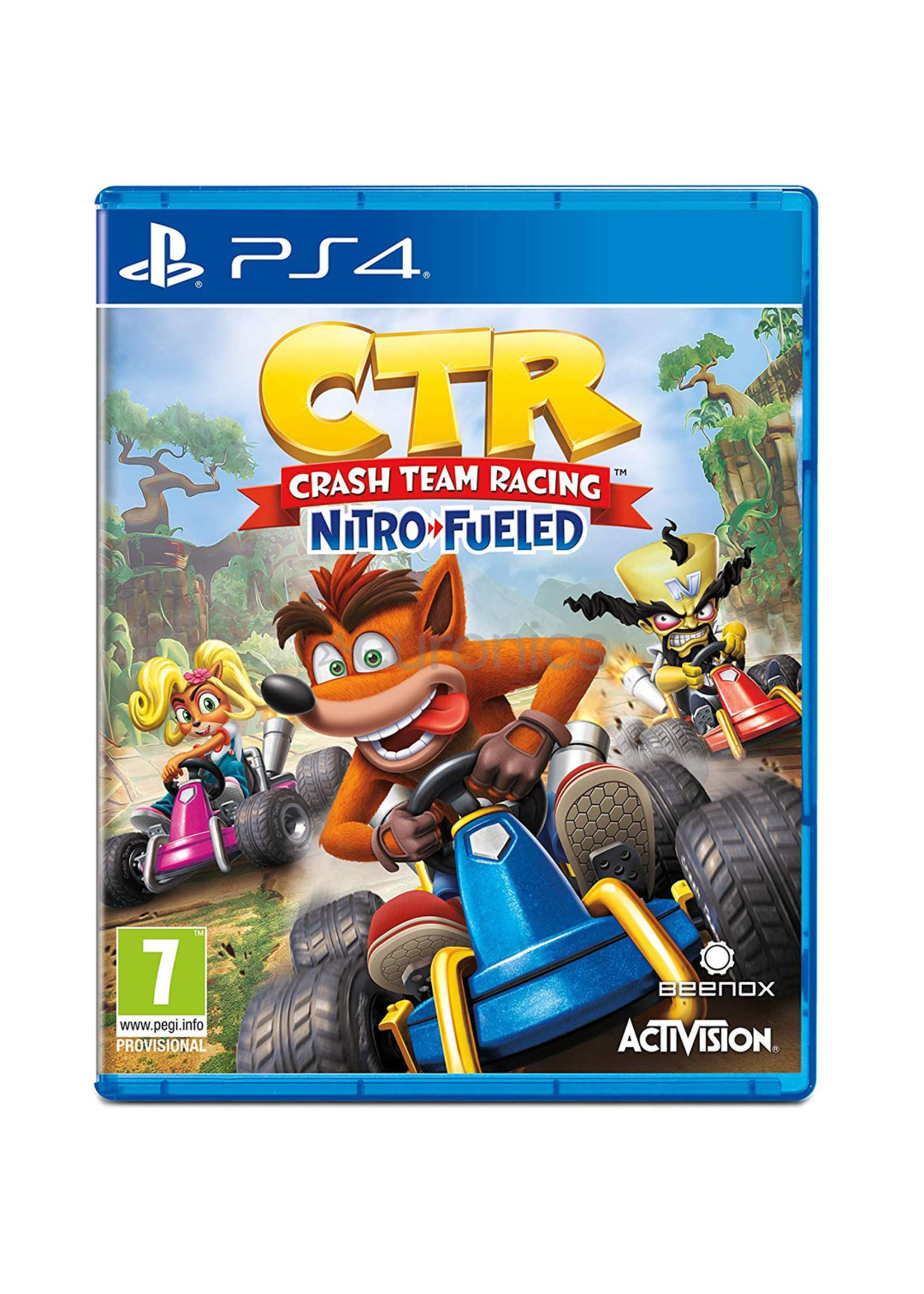 Crash Team Racing Nitro Fueled - PS4 NEW