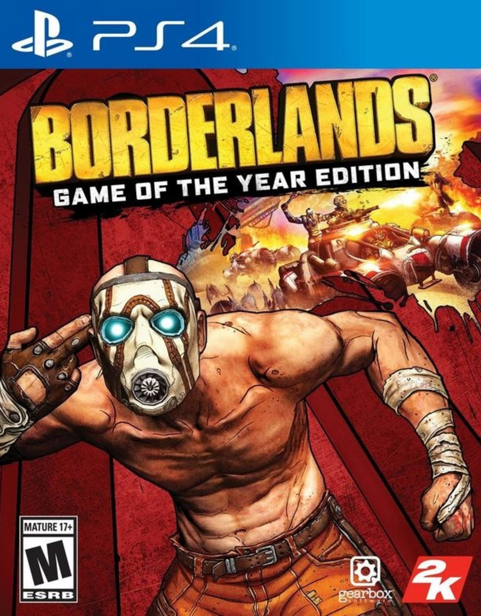 Borderlands: Game of the Year Edition - PS4 NEW
