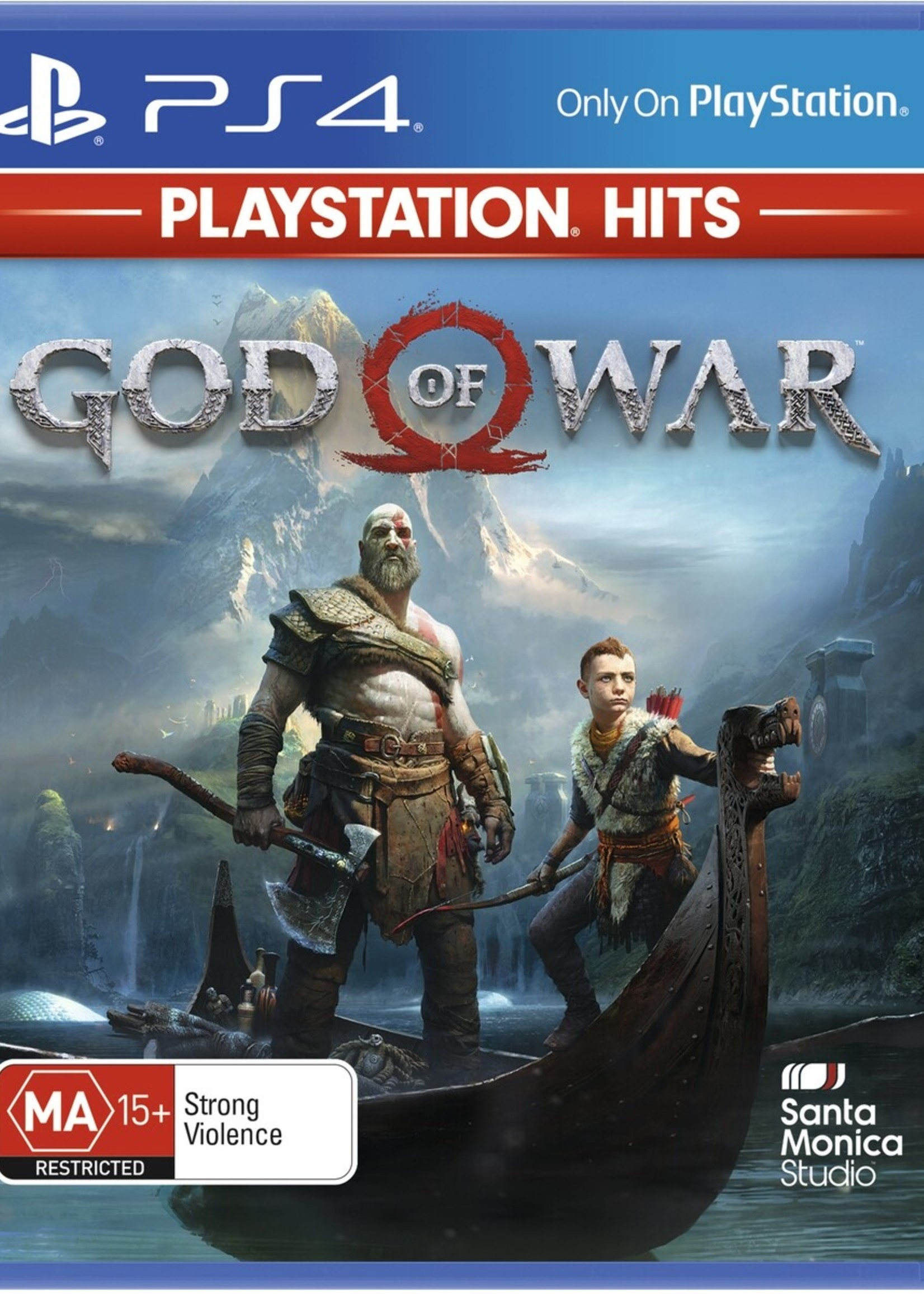 God of War 4 (Sleeve Case) - PS4 NEW