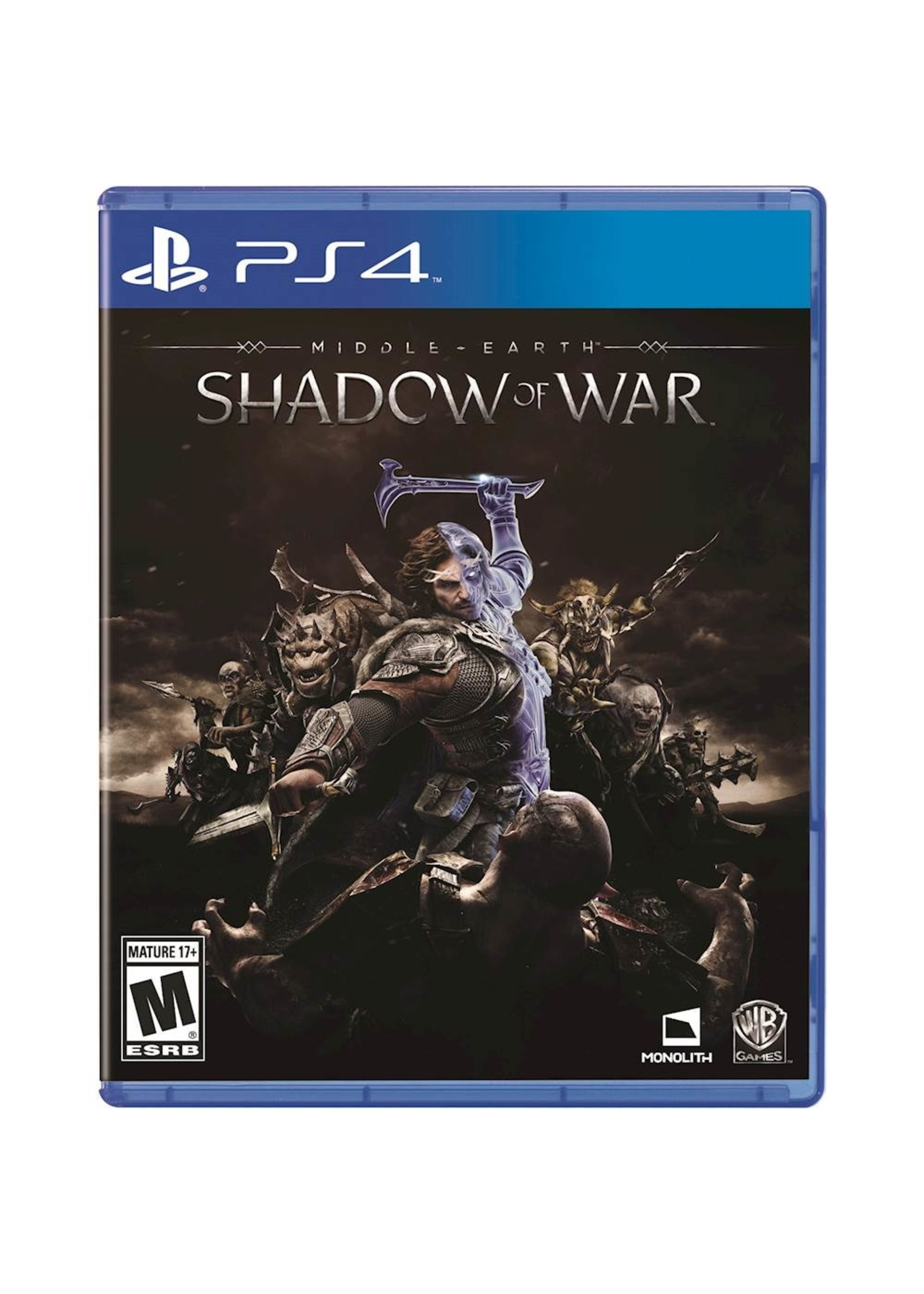 Middle Earth Shadow of War - PS4 PrePlayed