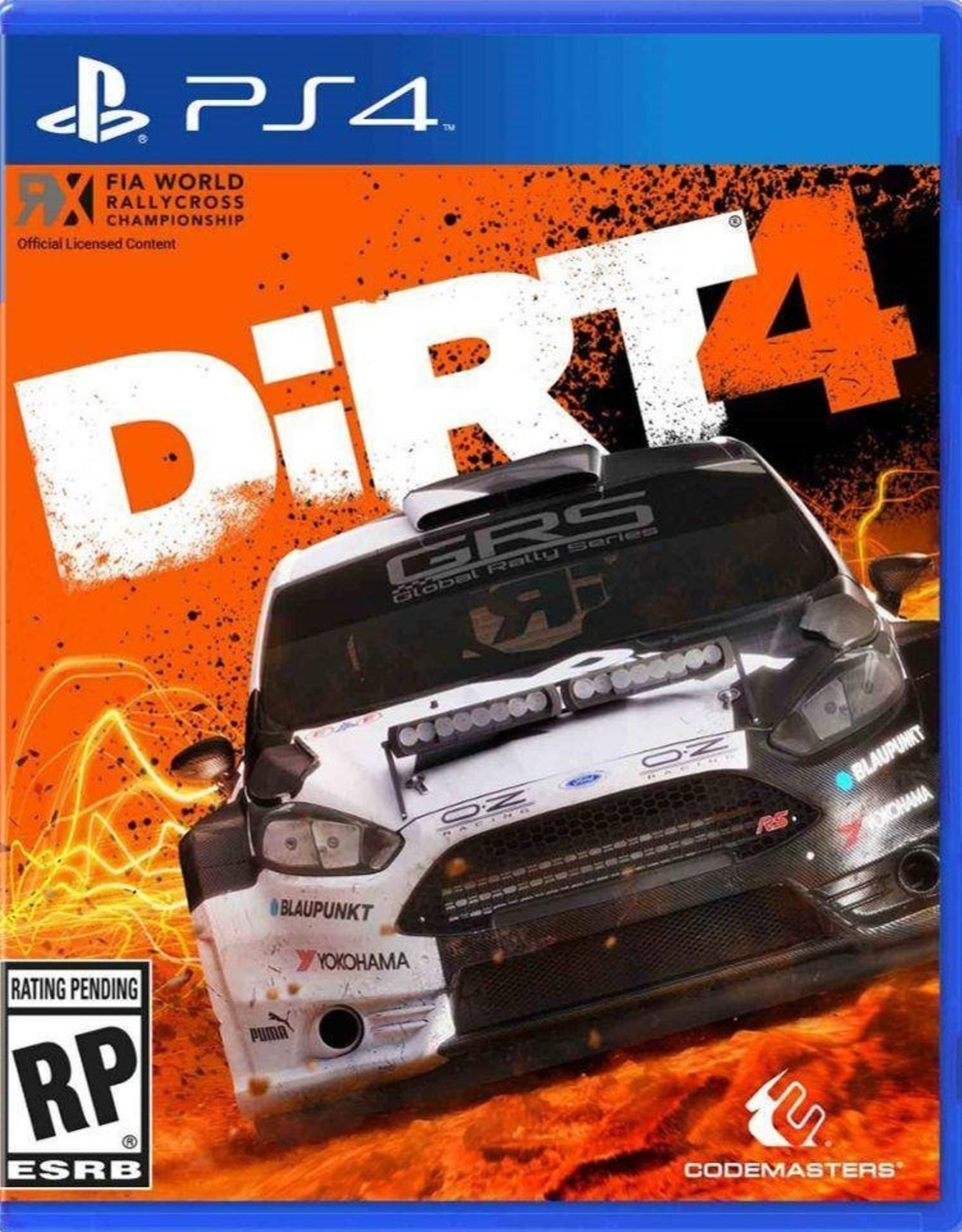 DiRT 4 - PS4 NEW