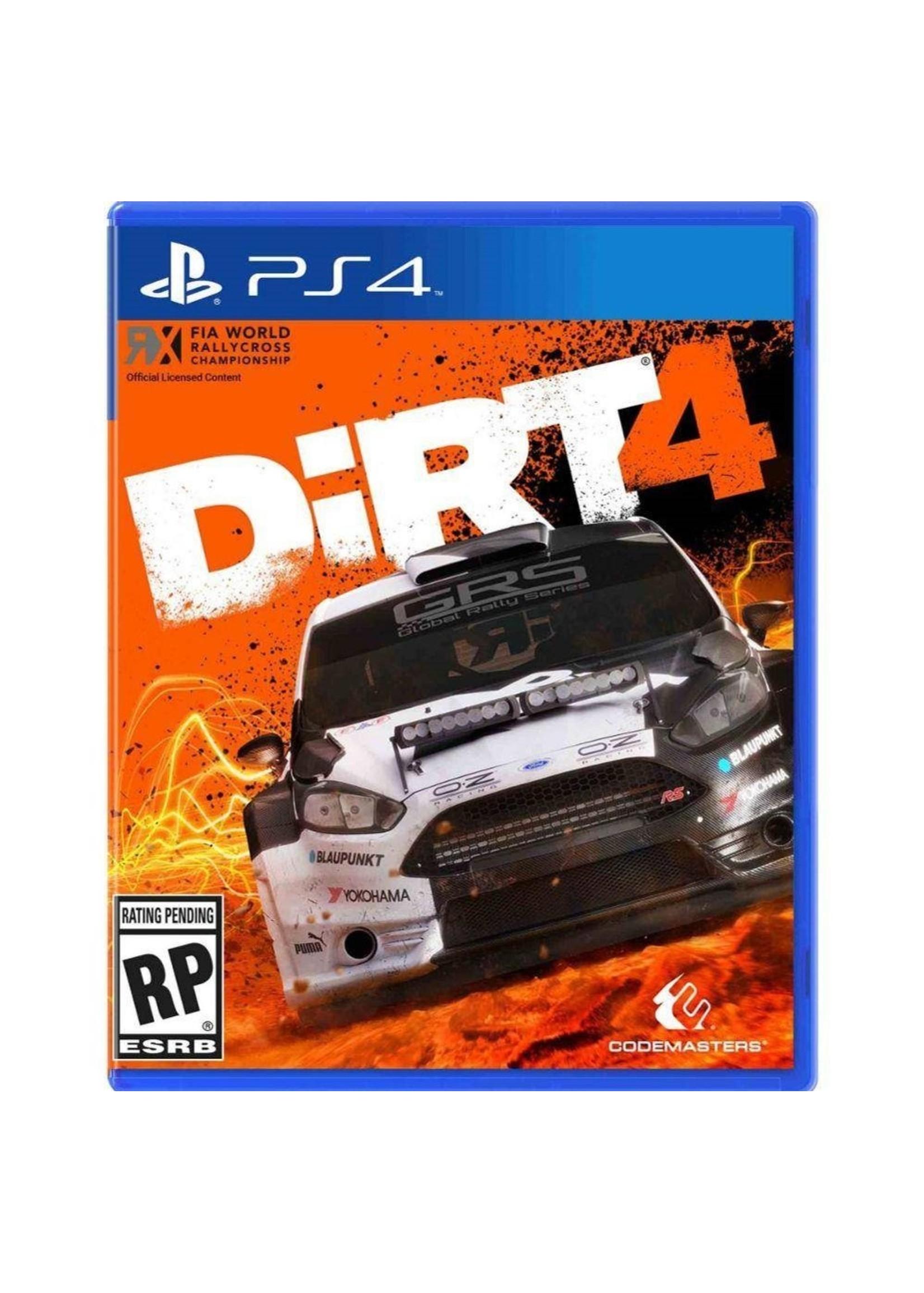 DiRT 4 - PS4 NEW