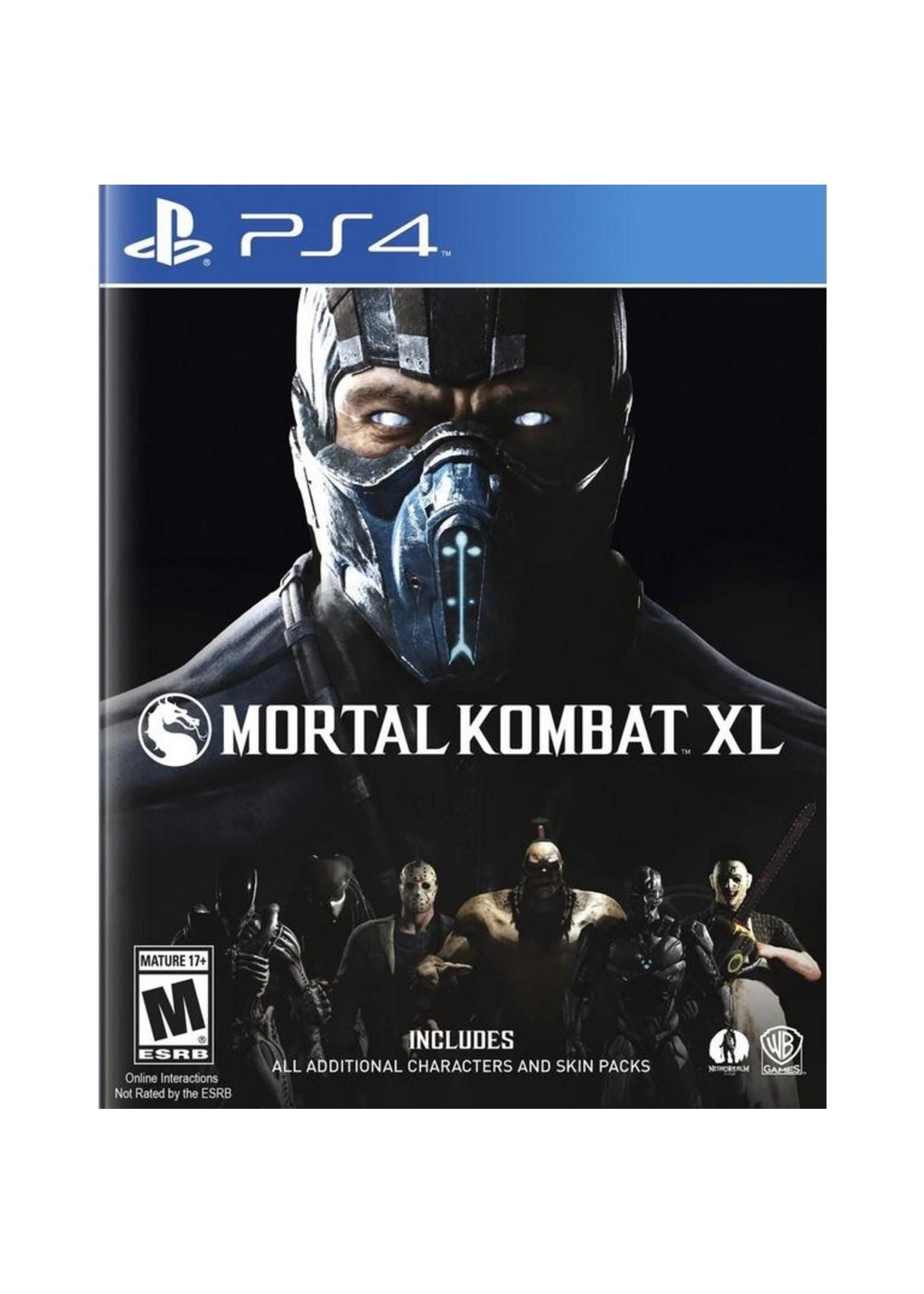 Mortal Kombat XL Edition - PS4 NEW