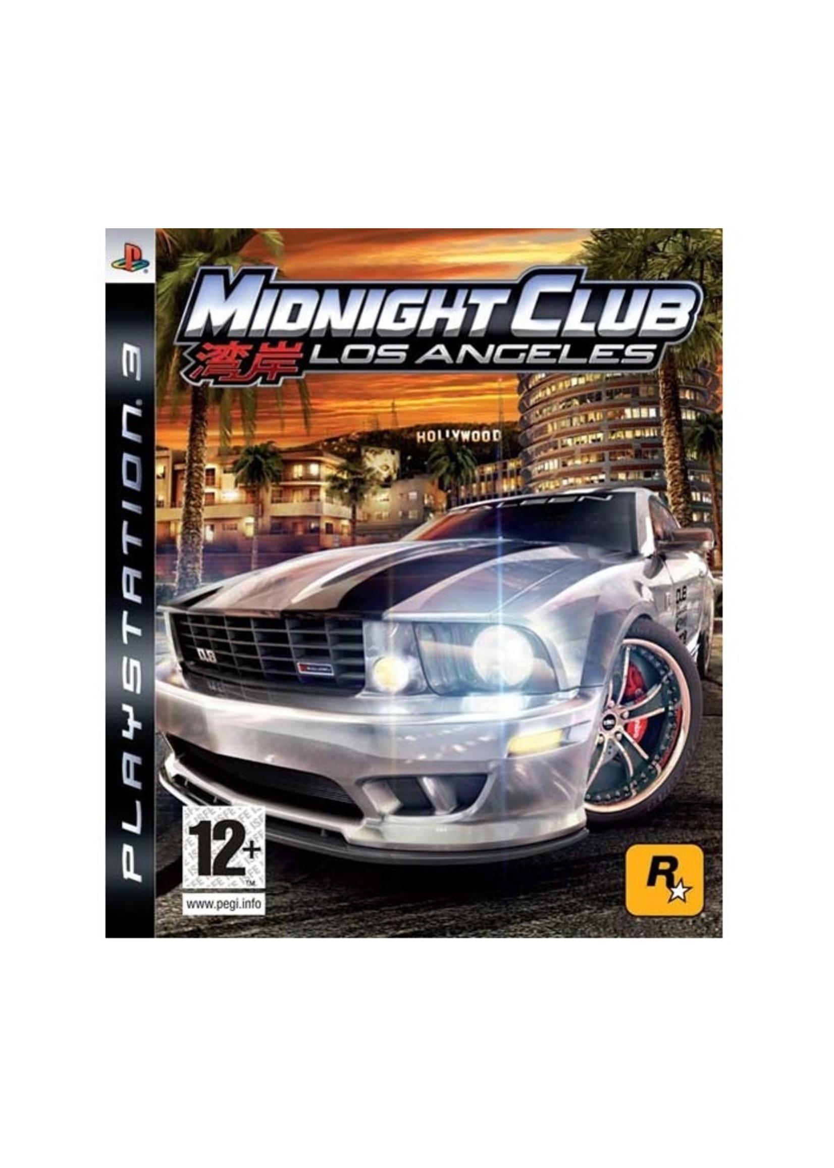 Midnight Club LA  - PS3 PrePlayed