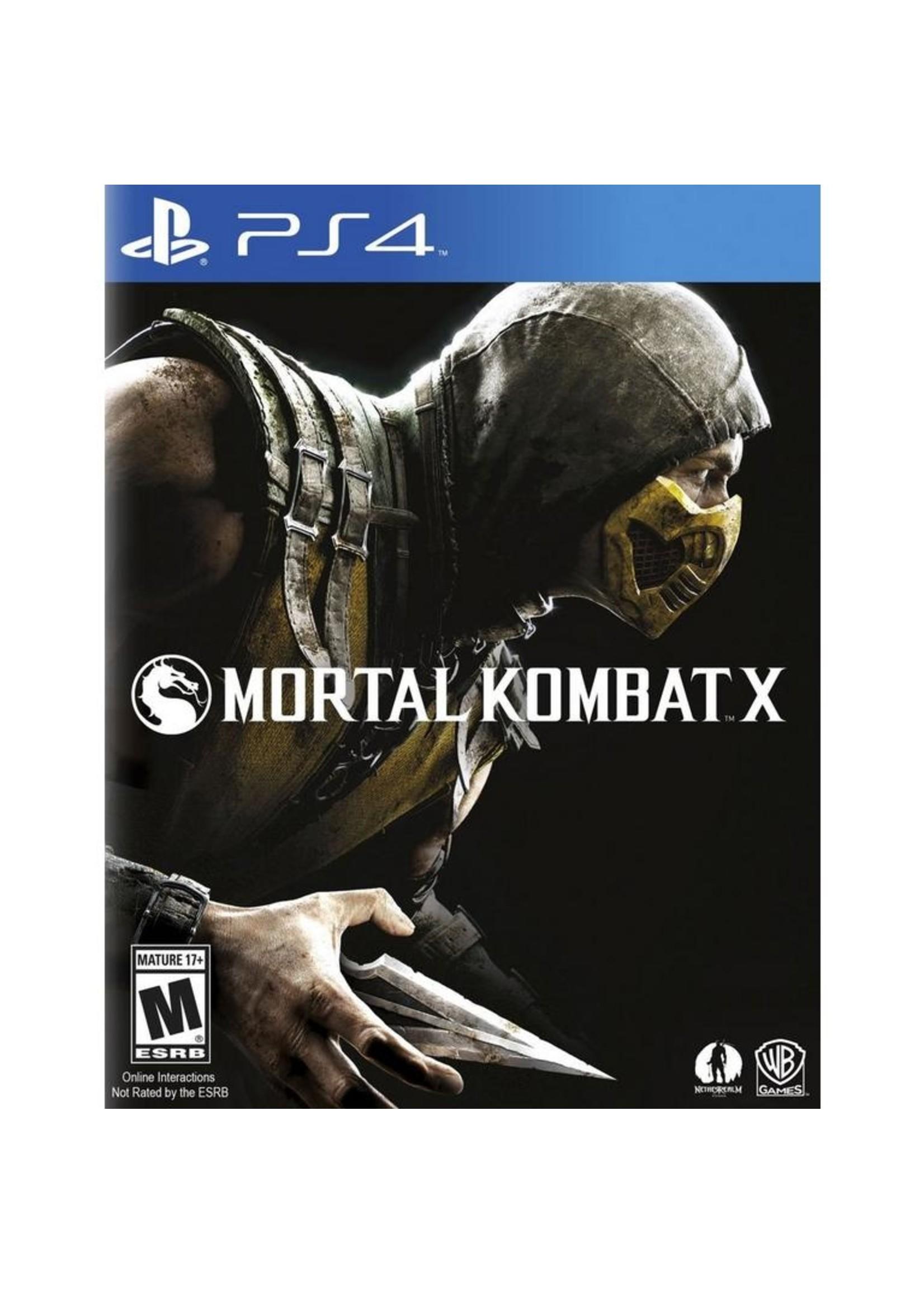 Mortal Kombat X - PS4 PrePlayed