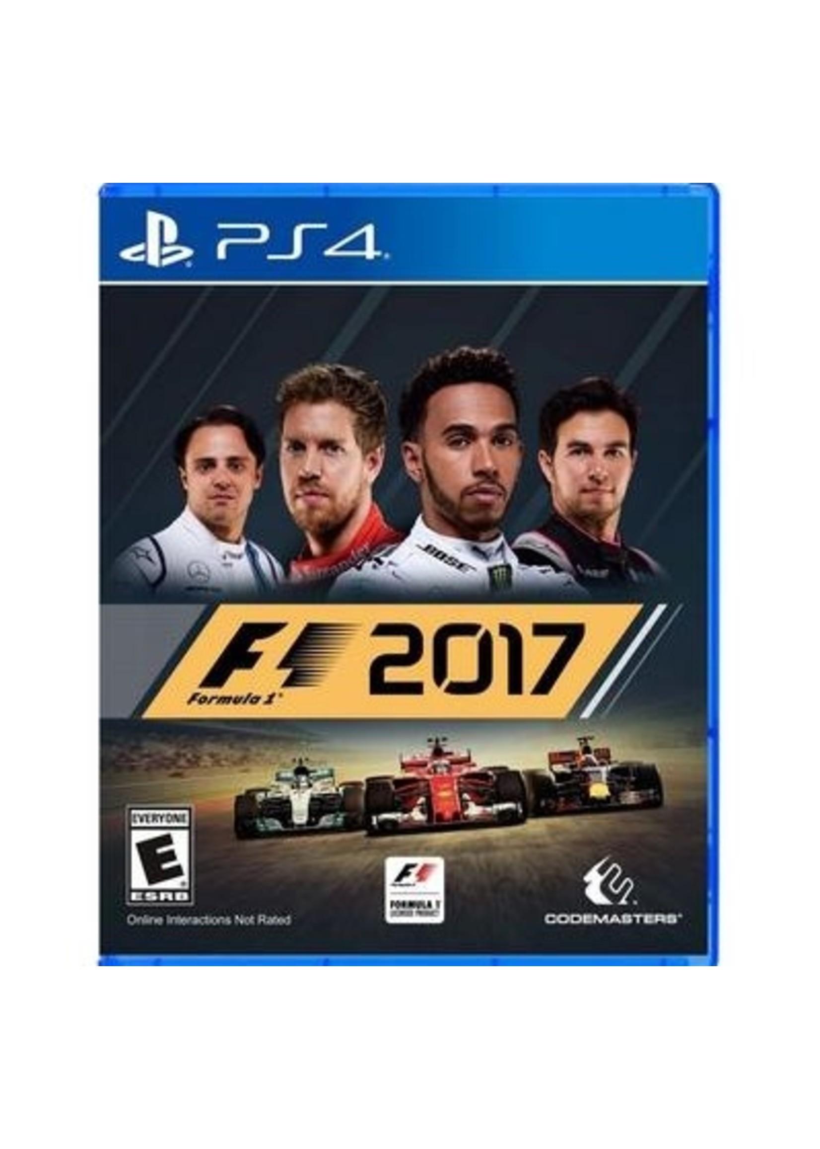 F1 2017 - PS4 PrePlayed