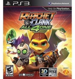 Ratchet and Clank: All 4 One - PS3 PrePlayed
