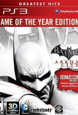 Batman: Arkham City Game of the Year Edition - PS3 PrePlayed