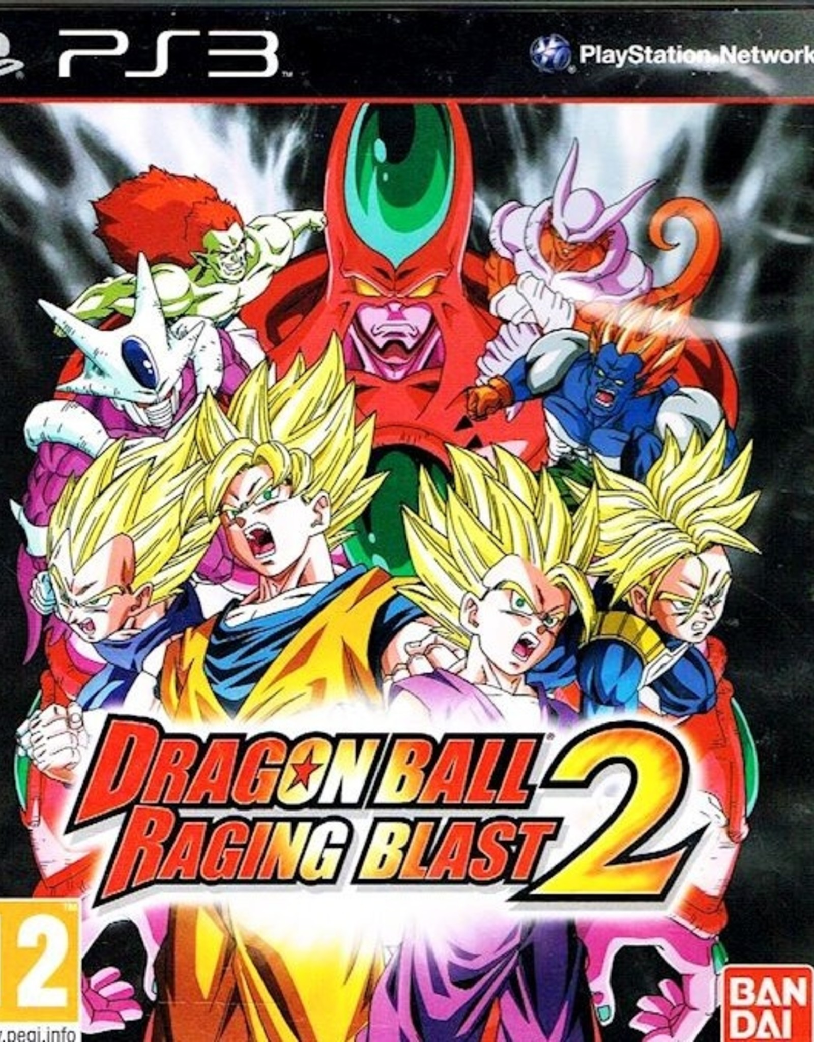 Dragon Ball Z: Raging Blast 2 - PS3 PrePlayed