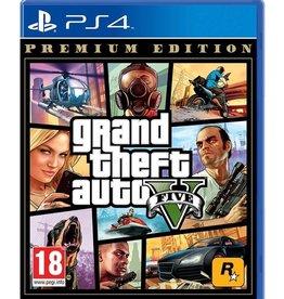 GTA Grand Theft Auto 5: Premium Online Edition - PS4 DIGITAL