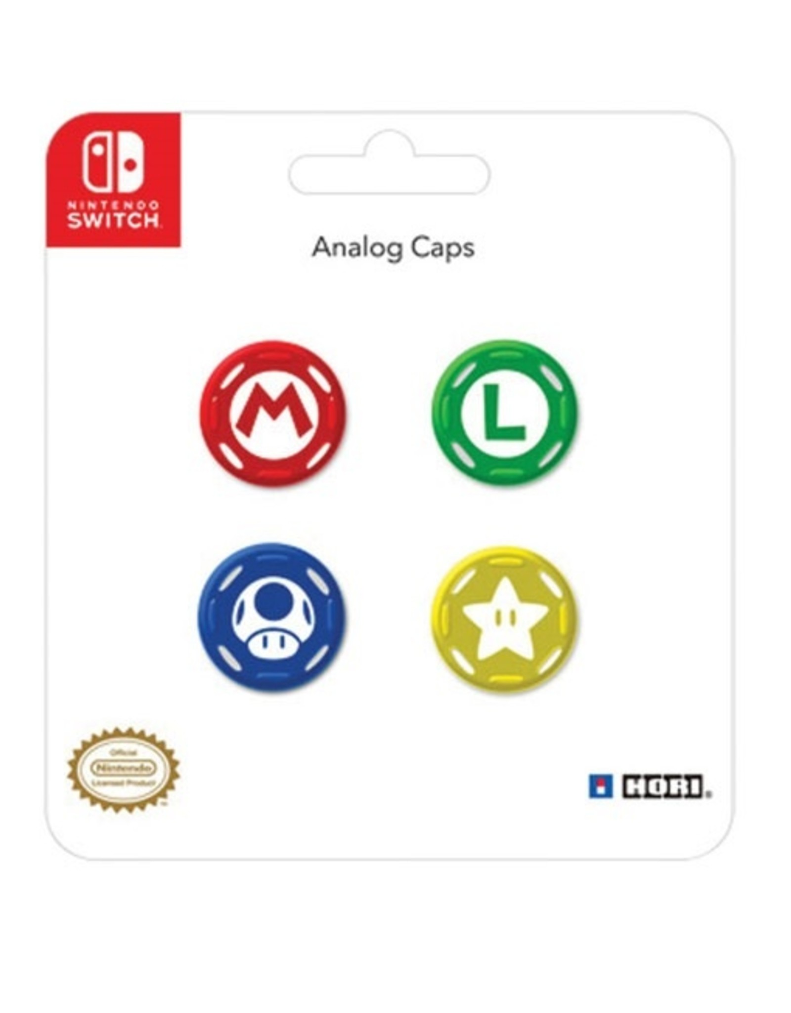 Thumb Grip Analog Cover Mario/Zelda  N-Switch (PAIR - 2 PCS)