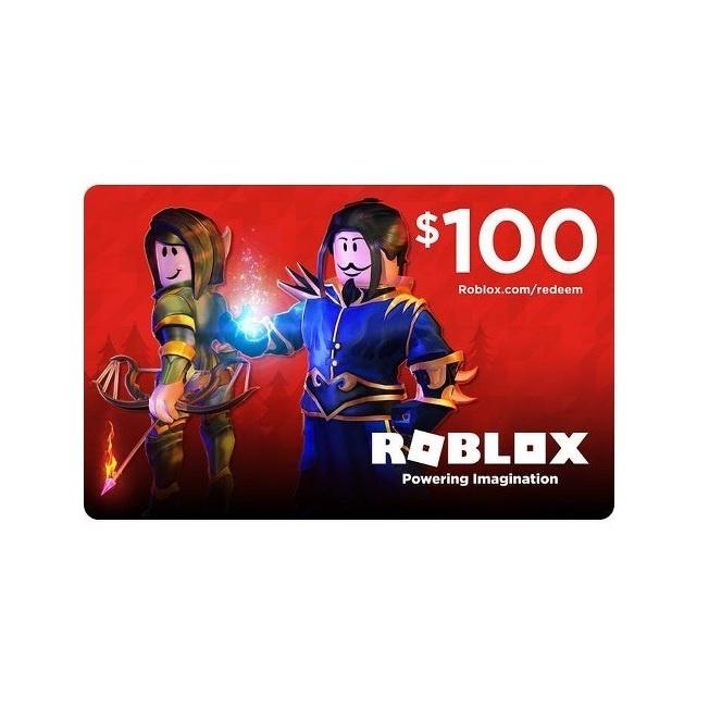 Roblox Gift Card $100 Roblox 100 Code Play Barbados