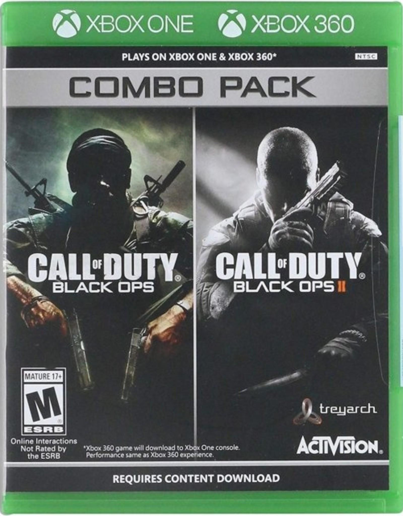 Call of Duty: Black Ops 1 + 2 - XB360 / XBOne NEW