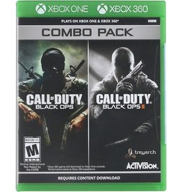Call of Duty: Black Ops 1 + 2 - XB360 / XBOne NEW