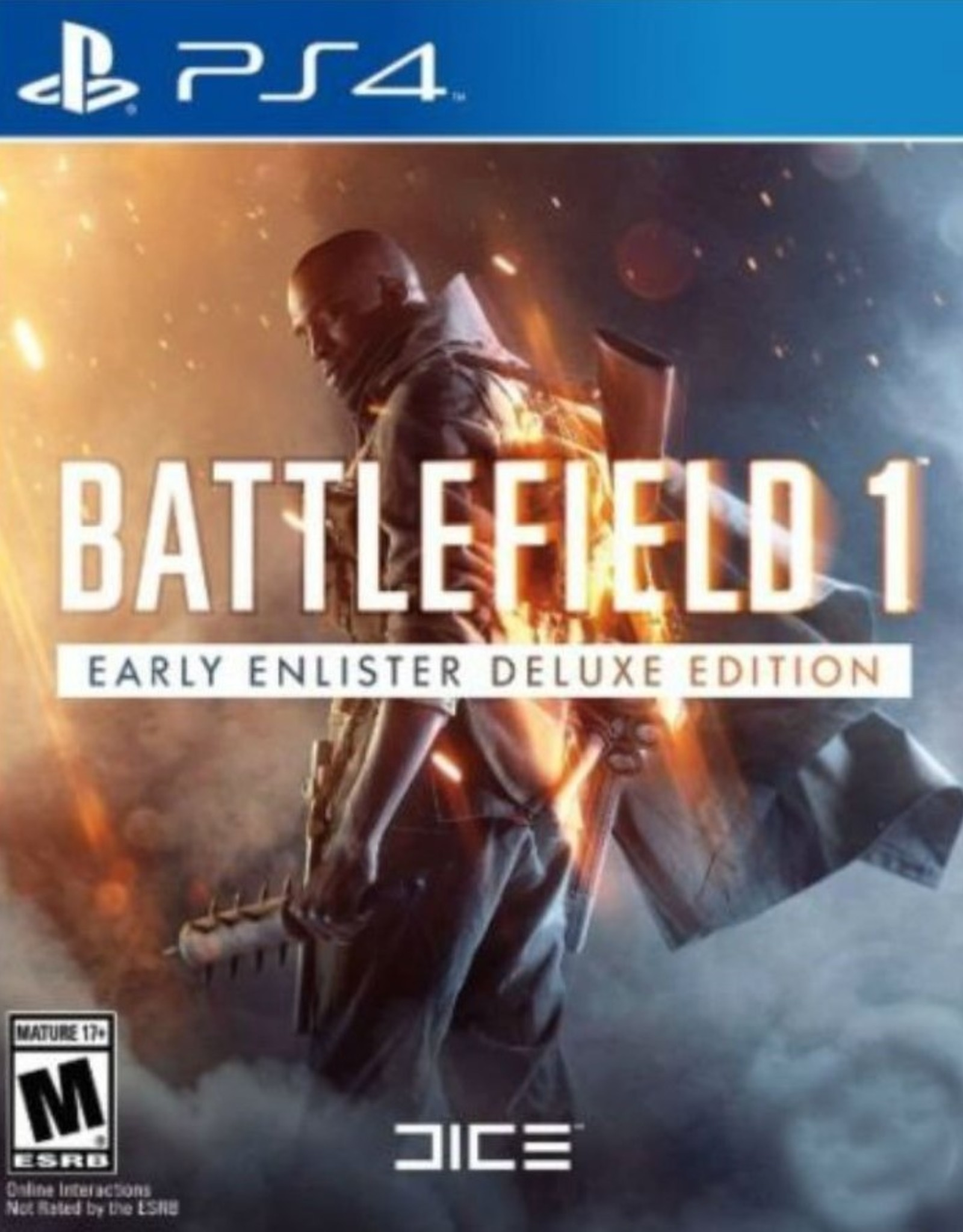 Battlefield 1 Early Enlister Deluxe - PS4 NEW