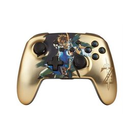 Nintendo PowerA Nintendo Switch Wireless Controller Zelda Chrome Edition
