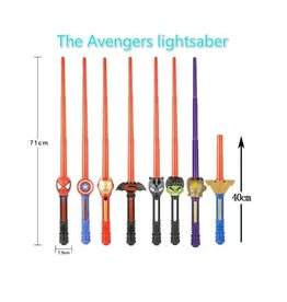 Avengers Toy Light Sabers