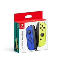 Nintendo Nintendo Switch Joy Con L + R Controller Blue + Neon Yellow