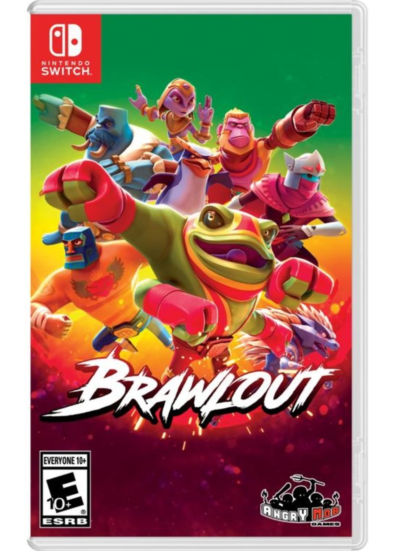 BrawlOut - SWITCH NEW