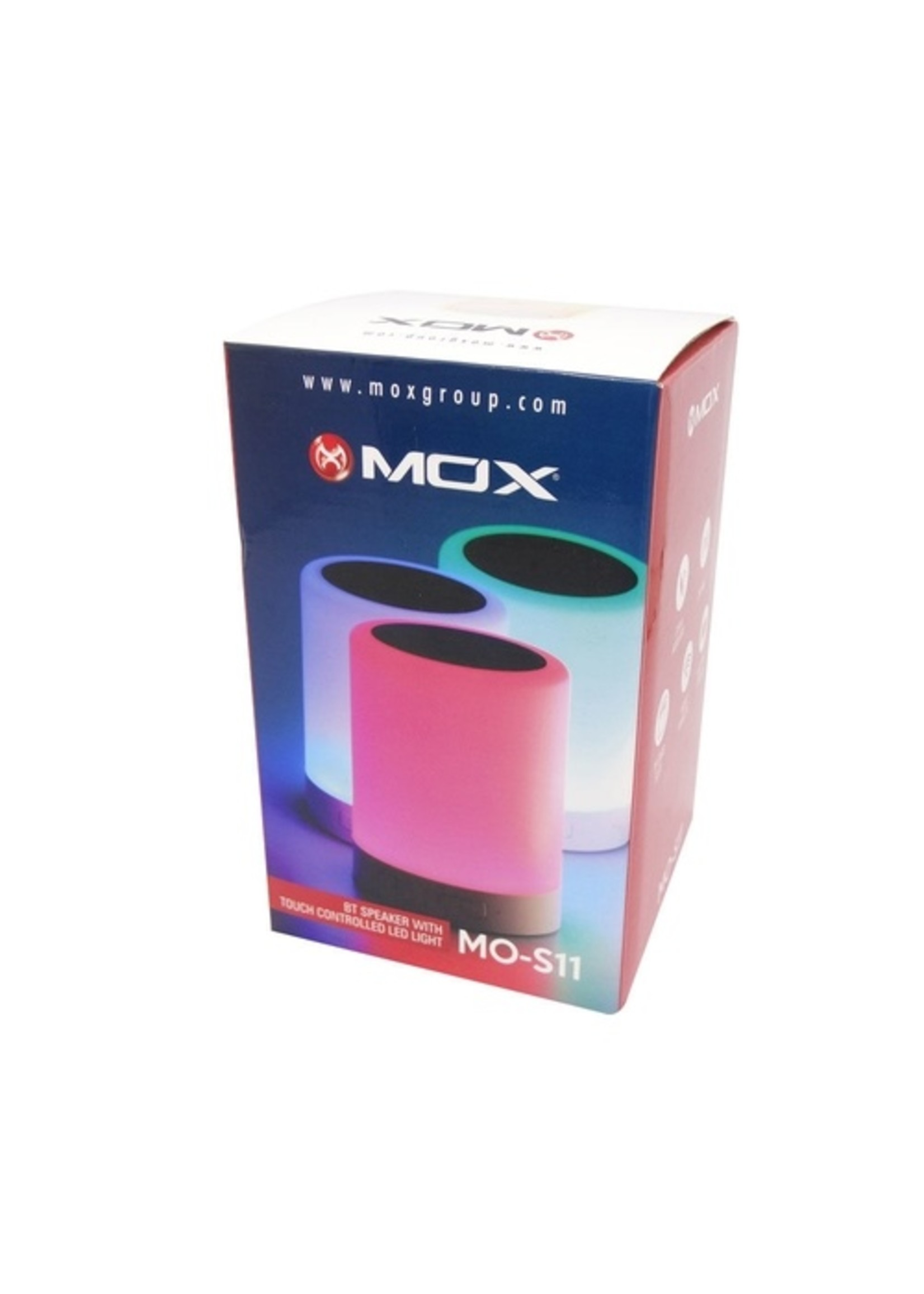 MOX Bluetooth Speaker Touch LED Light MO-S11