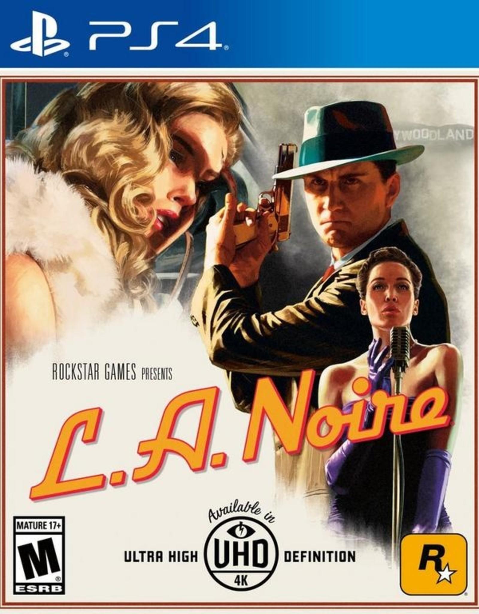 LA Noire - PS4 NEW