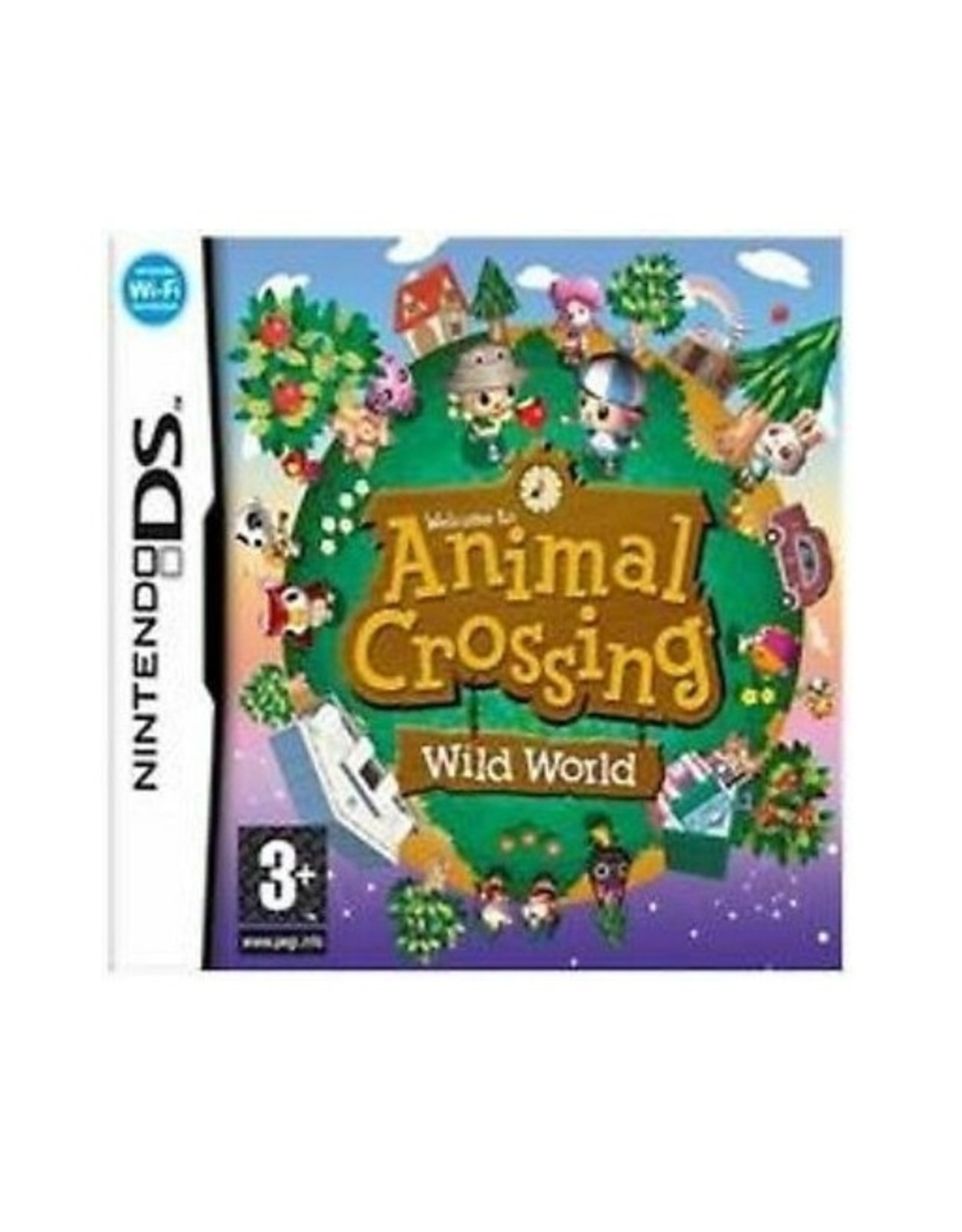 Animal Crossing Wild World - NDS PrePlayed