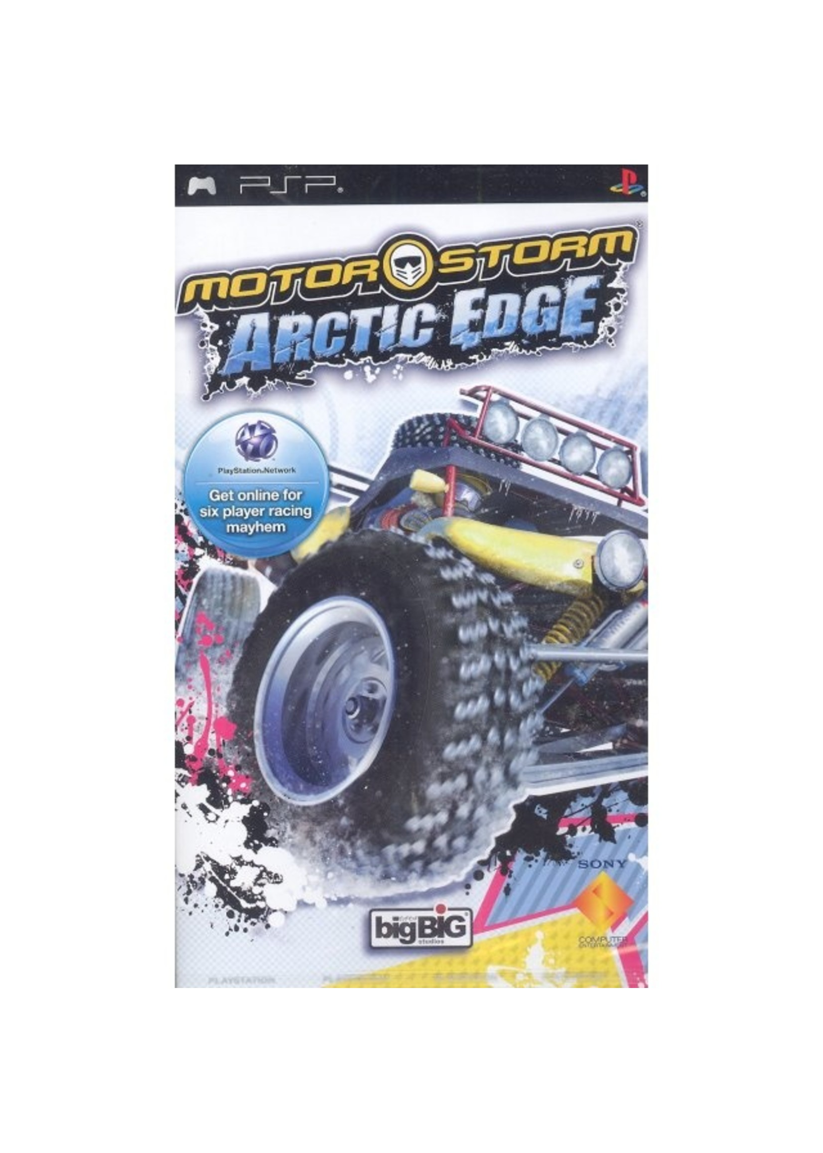 Motorstorm Artic Edge - PSP PrePlayed