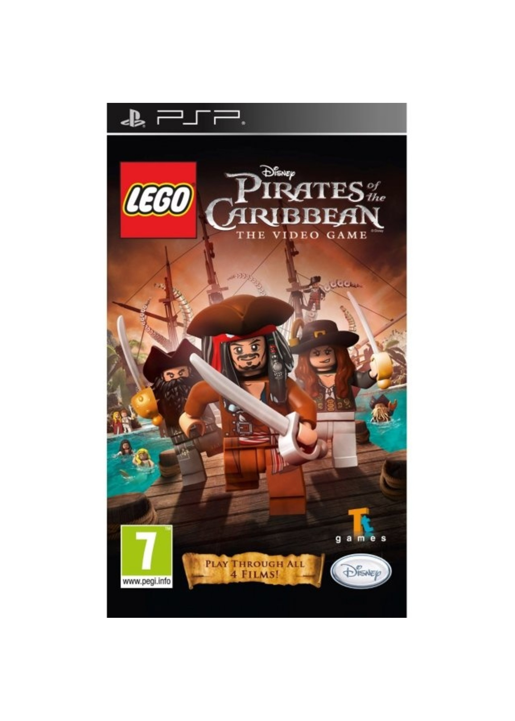LEGO Pirates of ther Caribbean - PSP PrePlayed
