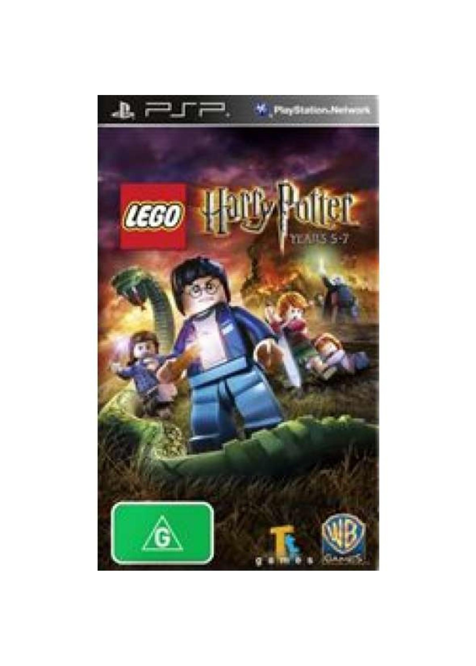 LEGO Harry Potter Years 5 - 7 - PSP PrePlayed