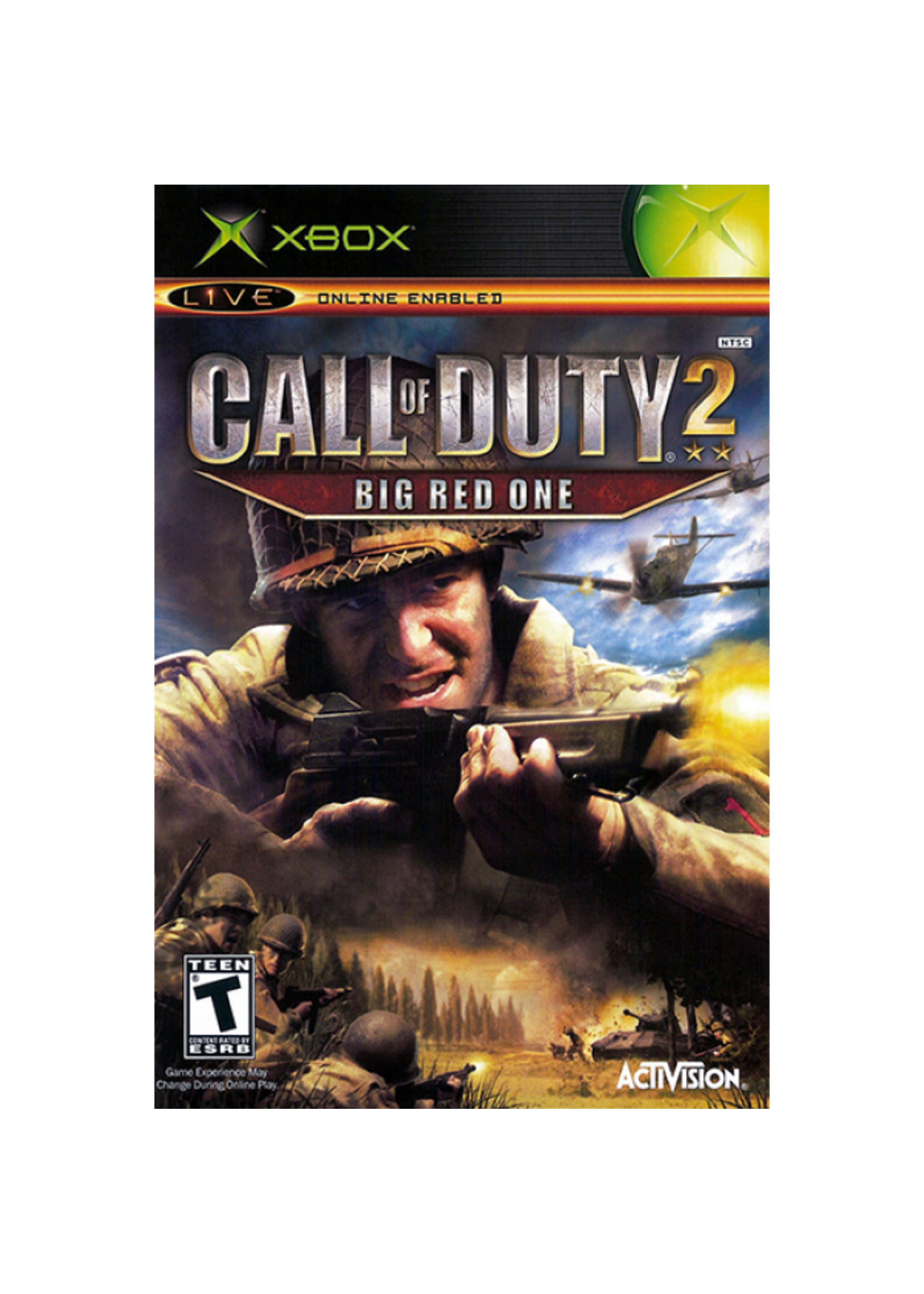 Call of Duty 2: Big Red One - XBOX PrePlayed