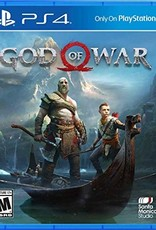 God of War 4 (Sleeve Case) - PS4 PrePlayed