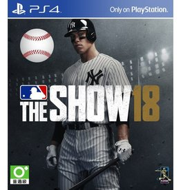 MLB The Show 18 - PS4 PrePlayed
