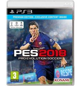 Pro Evolution Soccer 2018 - PS3 PrePlayed